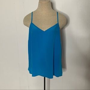 Lilly Pulitzer Silk Camisole Adjustable Tank Top
